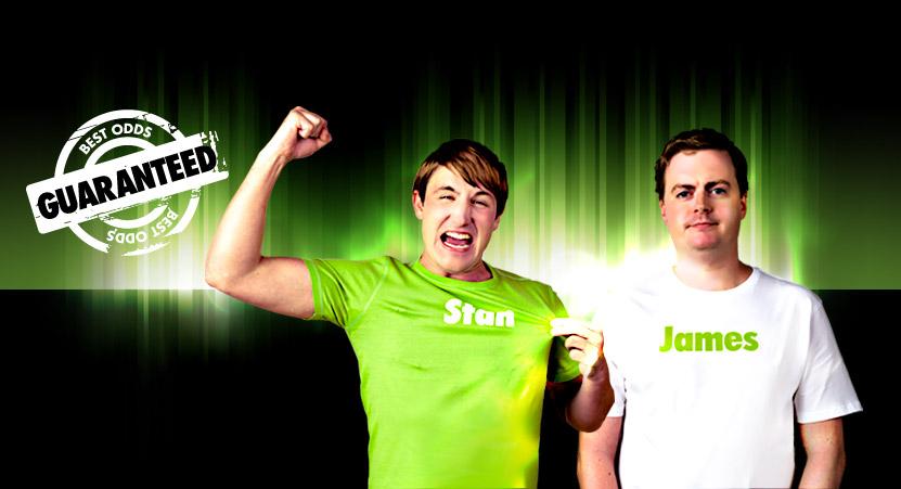 Stan James - реклама букмекера