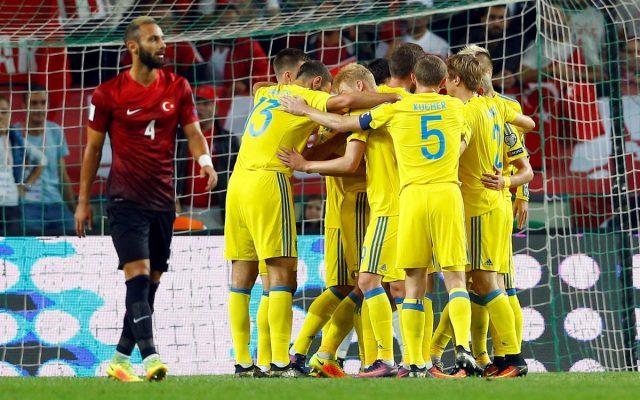 Украина Турция
