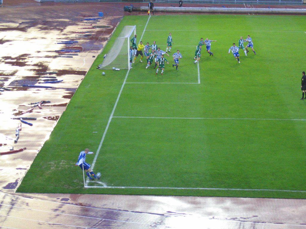 Стратегия ставок на угловые в футболе